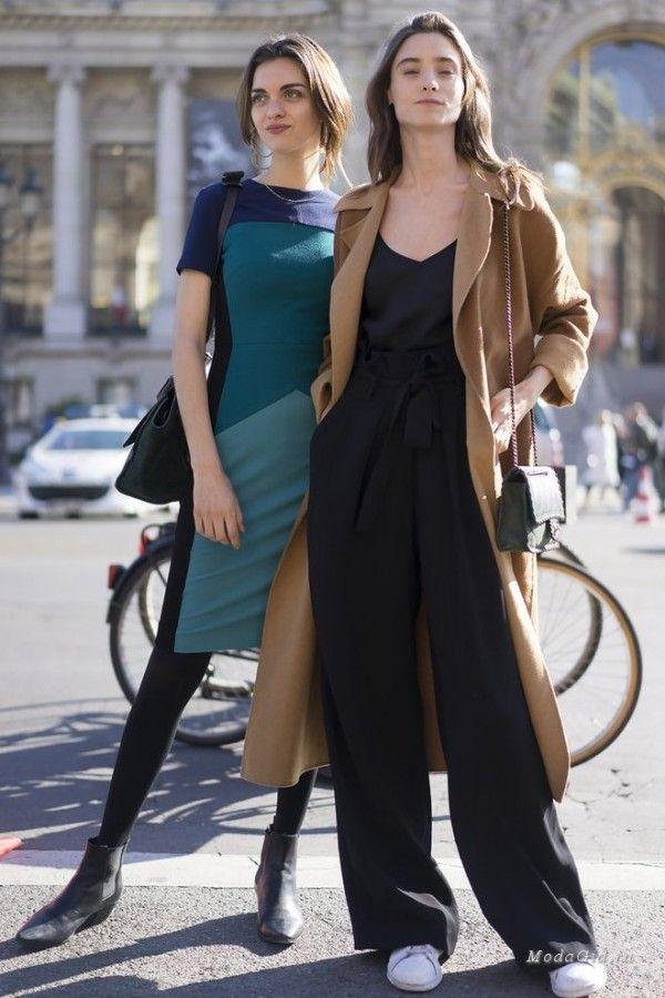 Уличная мода в Париже, весна 2017 9