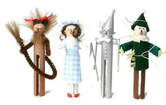 wizard of oz clothespins.