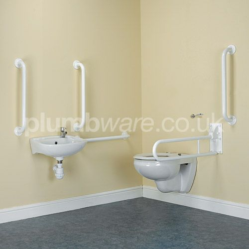 Document M compliant toilet pack (Wall Hung option) with WRAS approved flush and fittings.