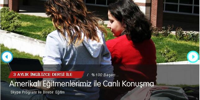 Türkiyede ilk defa, 10.Sınıf öğrencilerine Amerikalı Eğitmenlerle ONLINE ingilizce dersleri.Lise 2 İngilizce dersleri için » 0212 286 0 486 İngilizce kursu
