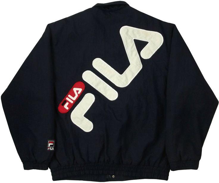 Image of Vintage Fila Jacket Size Medium