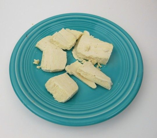 """Vegan Mozzarella Cheese - I created this recipe by accident, and it has become my absolute favorite """"cheese"""" for Vegan Pizza and Paleo Pizza. We DO want cheese on our pizza! It slices beautifully, and uses pure coconut instead of dairy. It's so close to that cheese flavor that when you mix it with other ingredients, you can't tell it's not cheese. This recipe is also free of soy, gmo, and stabilizers or thickeners like so many """"Vegan"""" cheeses. #paleo #pizza"""