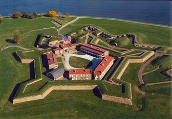 """""""The Rocket's Red Glare"""": Francis Scott Key and the Bombardment of Fort McHenry   Learn how the British bombardment of Fort McHenry in Baltimore led to the writing of """"The Star-Spangled Banner"""" and how Key's song became a powerful symbol for Americans.(National Park) Learn how a classroom teacher uses this lesson."""