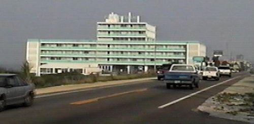 Fontainebleu Terrace, Front Beach Rd, Panama City Beach, Florida. 1980's postcard by stevesobczuk, via Flickr