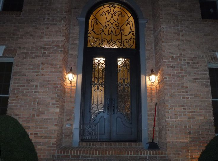 76 Best Iron Front Door Installations Images On Pinterest Entrance