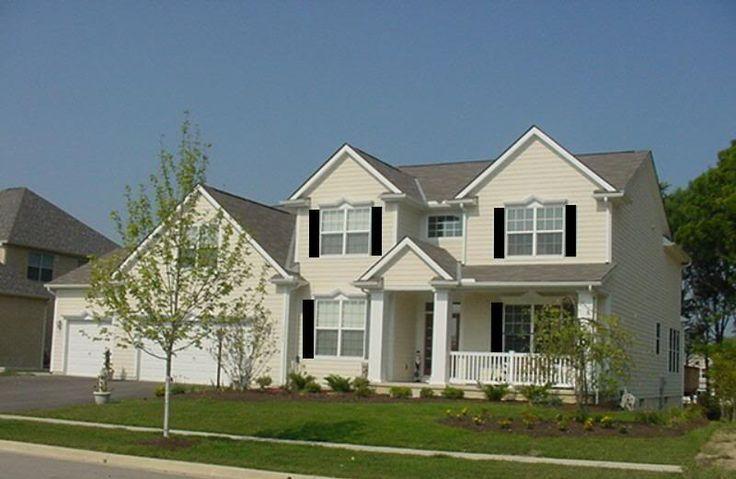 blk curb appeal pinterest exterior colors home and. Black Bedroom Furniture Sets. Home Design Ideas