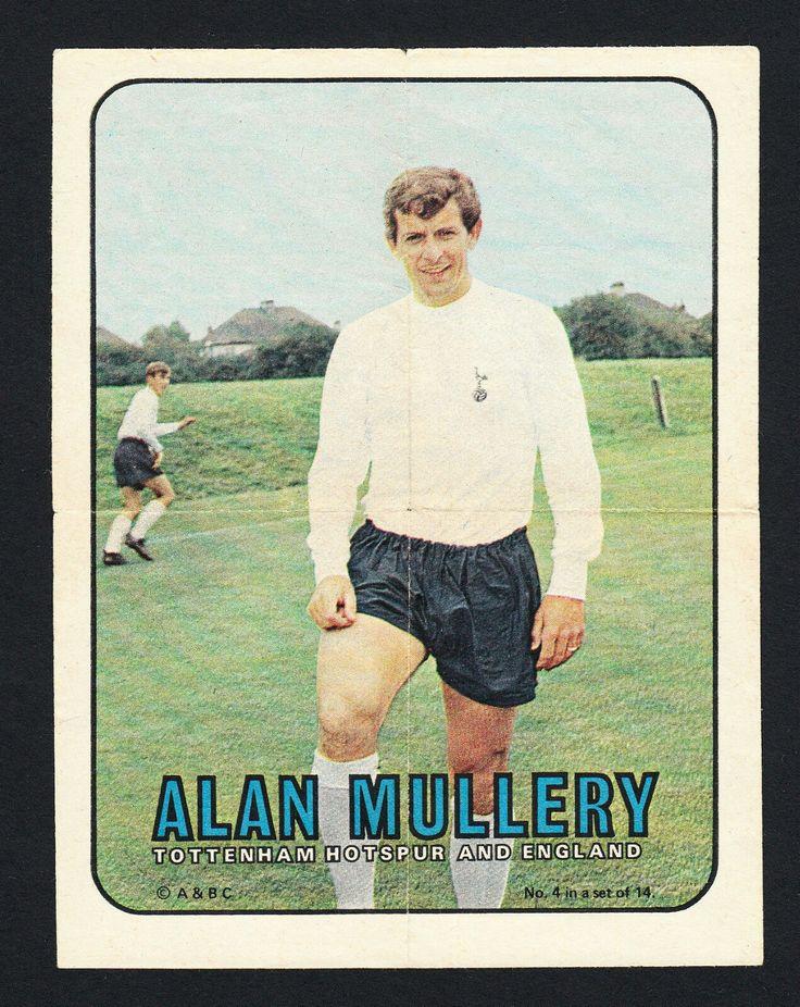 A&BC pinups - Alan mullery Tottenham hotspur