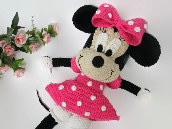 Crochet Minnie Mouse Doll : 1000+ ideas about Minnie Mouse Doll on Pinterest Pram ...