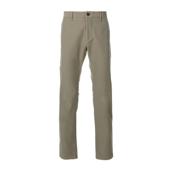 CLOSED Olive Green Chinos (10.295 RUB) ❤ liked on Polyvore featuring men's fashion, men's clothing, men's pants, men's casual pants, green, mens chino pants, mens green pants, mens chinos pants, mens olive green pants and mens green chino pants