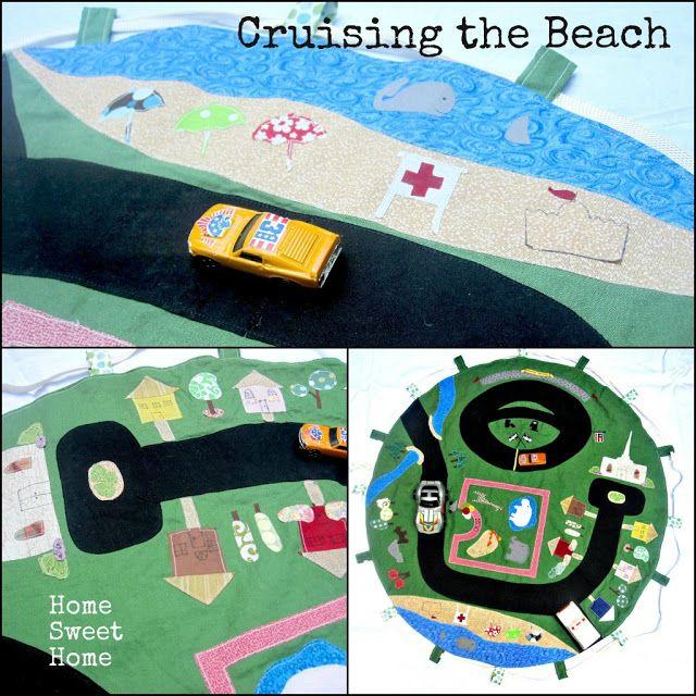 The Creative Vault: Car Play Mat & Storage Bag
