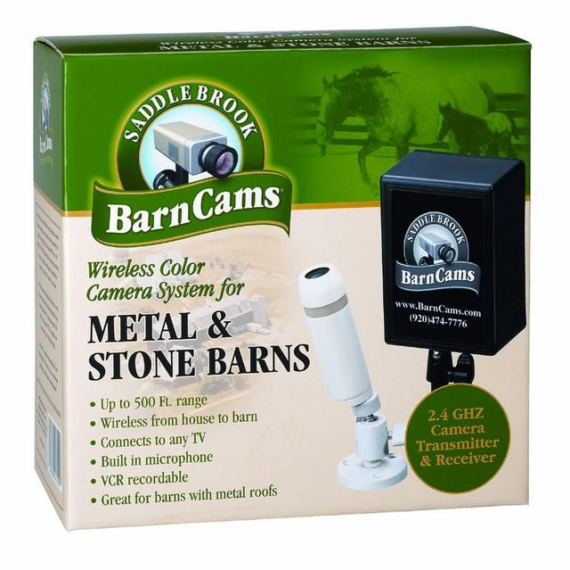 Wireless Camera System Metal , Stone or Wood Barns