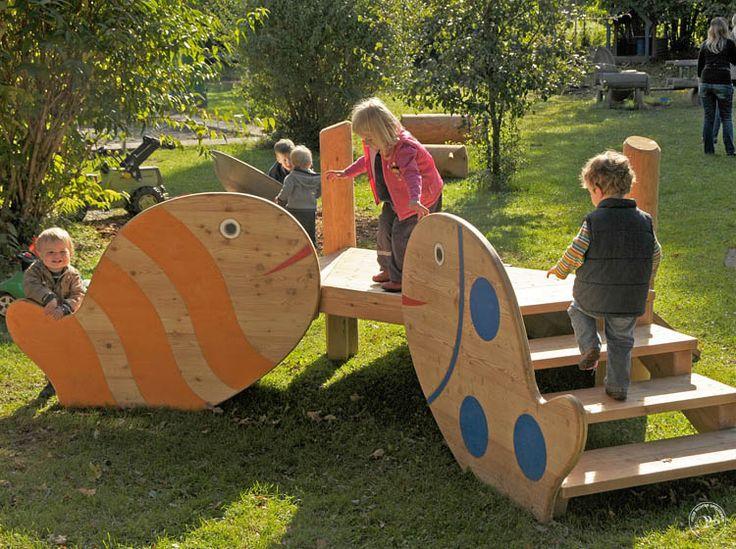 Richter Spielgeräte: Bildbeispiele Kleinkinder