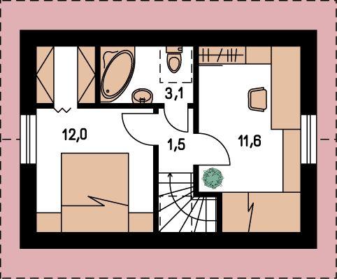 Proiecte de case pe teren cu deschidere mica narrow lot house plans 11