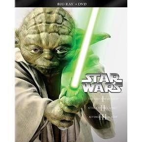 Star Wars Trilogy: Episodes I-III (6 Discs) (Blu-ray/DVD)
