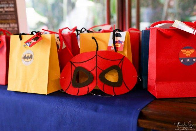 Festa Super Heróis | Macetes de Mãe