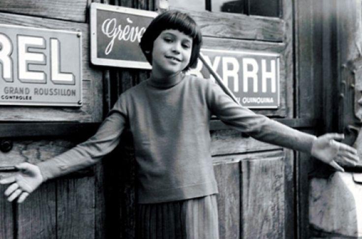 """Catherine Demongeot as Zazie, in Louis Malle's adaptation of """"Zazie dans le métro"""", 1960"""