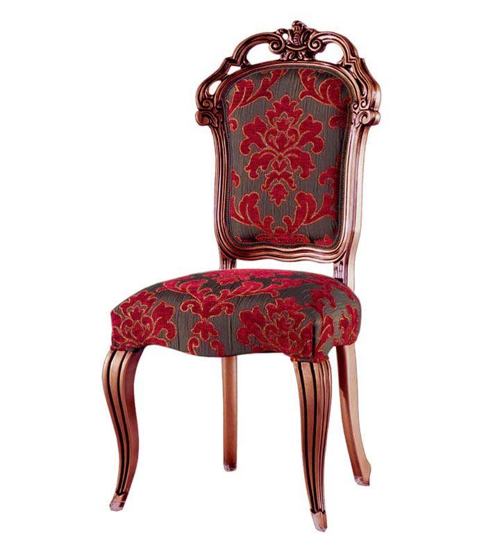 Sedia stile superclassico - ArteFerretto Sedia di grande eleganza, estremamente classica, con dettagli di grande pregio.