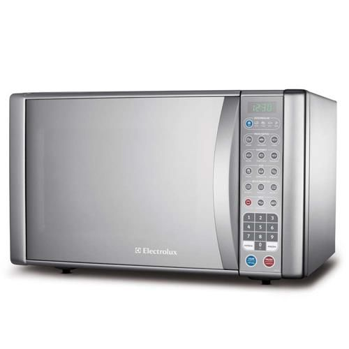 Forno de micro-ondas Electrolux MEV41 c/ Porta de Vidro Espelhada e Grill - 31 L