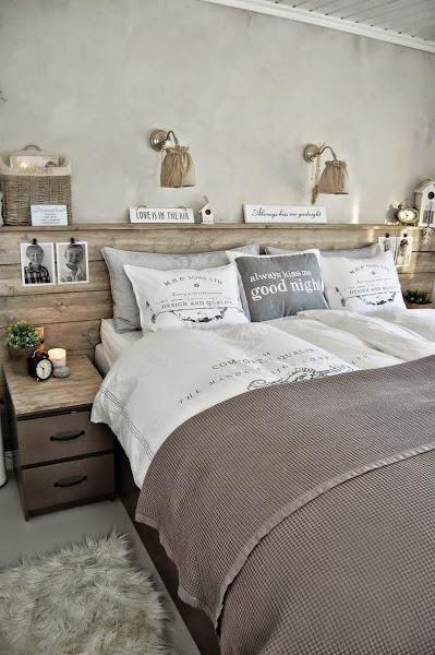 Inspiración para tu dormitorio. Cabeceros | Decorar tu casa es facilisimo.com
