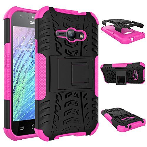 Buy Galaxy J1 Ace Case, Asstar Shockproof Heavy Duty Combo Hybrid Rugged Dual Layer Grip Cover with Kickstand For Samsung Galaxy J1 Ace J110M J110H J110 (Rose) NEW for 1.49 USD | Reusell
