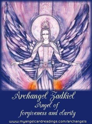 13 Best 7 Archangel Zadkiel Images On Pinterest Archangel Zadkiel
