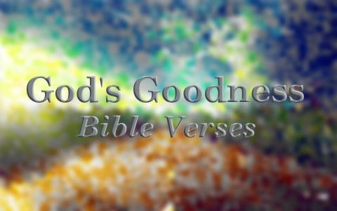 """7 Famous Bible Verses About God's Goodness ~ Exodus 34:6-7a """"The LORD passed before him and proclaimed, """"The LORD, the LORD, a God merciful and gracious, slow to anger, and abounding in steadfast love and faithfulness, keeping steadfast love for thousands, forgiving iniquity and transgression and sin."""" [...]"""