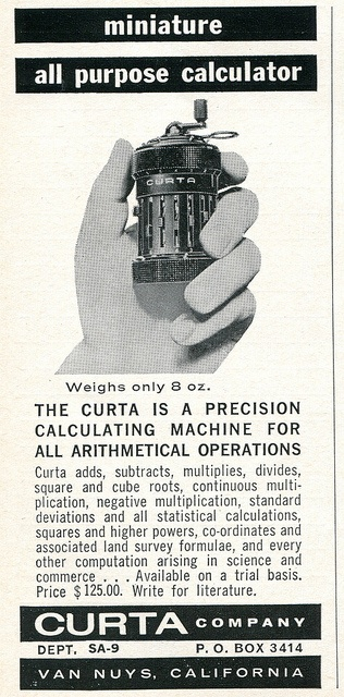 It's not a pencil sharpener, it's a calculator.