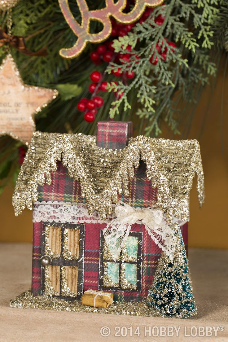 226 best cardboard house templates images on pinterest christmas theres no wrong way to handmade holiday decor our papercrafting embellishments can go modern jeuxipadfo Image collections