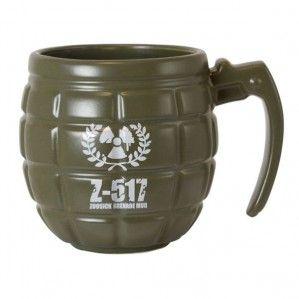 Kubek - granat