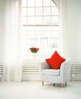 Sheer curtain panels can work on just about any window and can instantly change the feel of an entire room. But commercial sheers can get expensive, and your options are limited to the designs ...