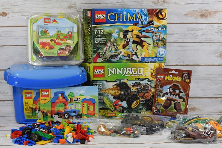 Lot of #Lego Pieces & Parts from #Chima 70115 #Ninjago 70502 + 6760 4626 41512