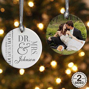 25+ best ideas about Wedding christmas ornaments on Pinterest ...