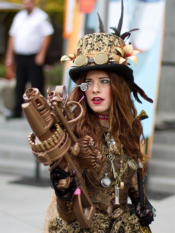 steampunk | Steampunk - kurz & geek: Opulente Kostüme sind gern gesehen! | CC BY ...
