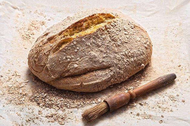 Ψωμί εύκολο (φρατζόλα σαν προζύμι)