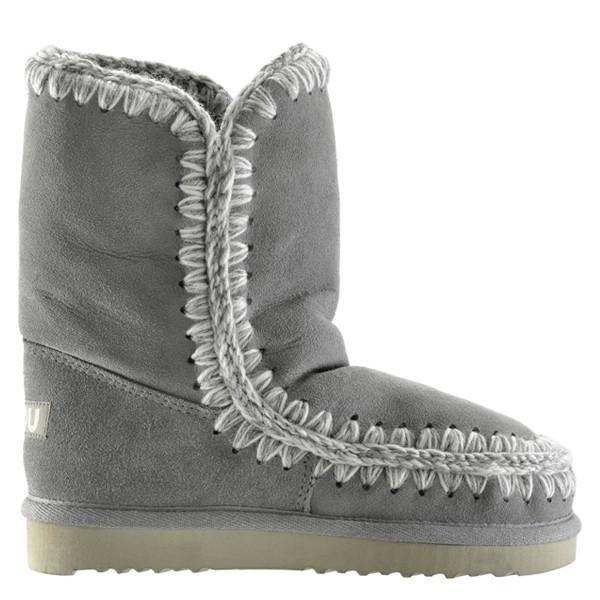 Mou Eskimo Short Boots Women New Grey - MOU #mou #backtoschool #mouboots #