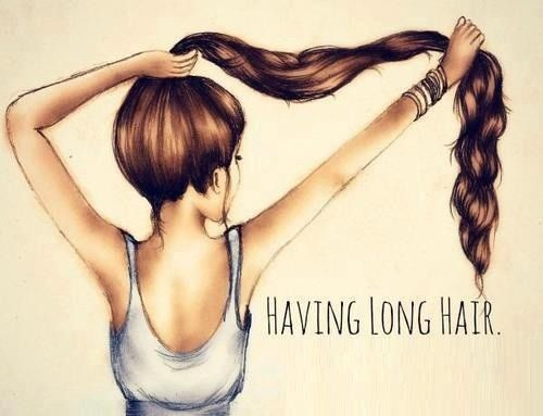 All you ladies with luscious long locks can relate.