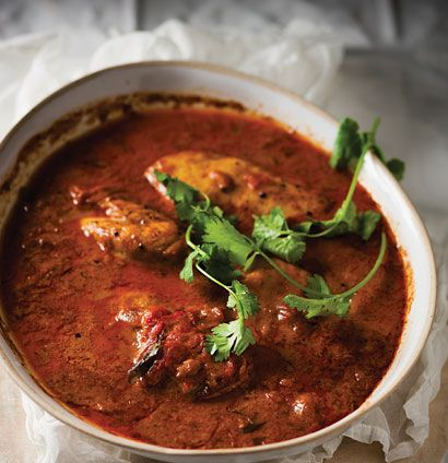 Sort-of chicken tikka masala