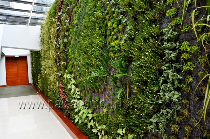 Jardines verticales patente Ignacio Solano Hotel Cosmos 100