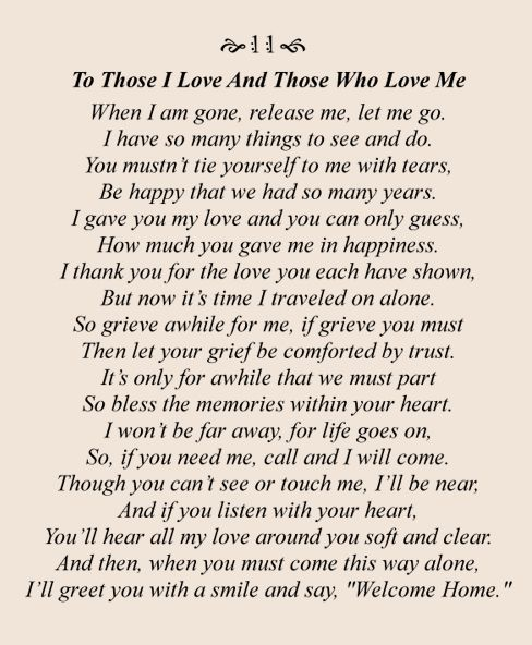 25 Best Ideas about Sympathy Poems – Funeral Words for Cards