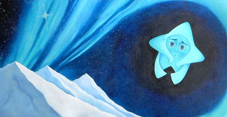 Sofia Filea www.facebook.com/sofiafileasart illustration, christmas, star, bethlehem start, jesus birth
