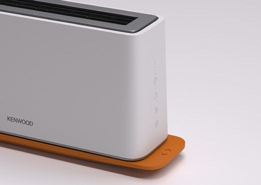 Toaster Concept for Kenwood Luca Breakfast Range by Youmeus
