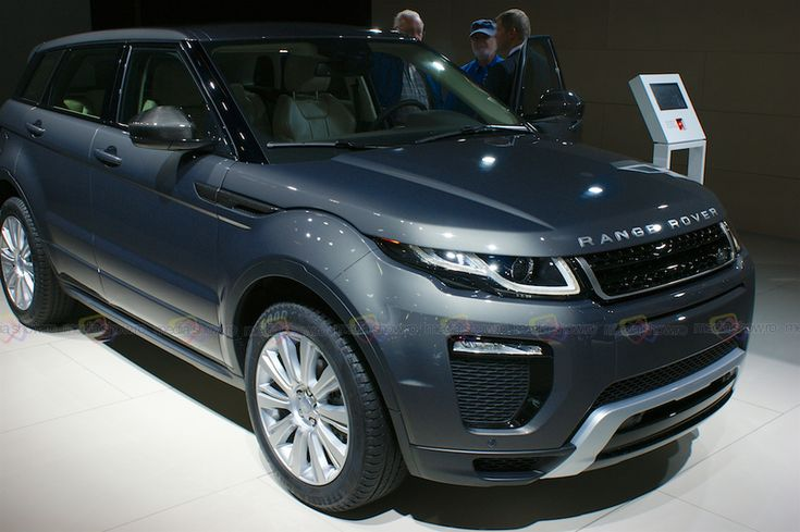 2016 Range Rover Land Rover Evoque - Want to see more? Follow the link on the photo for Range Rover at IAA Frankfurt 2015!