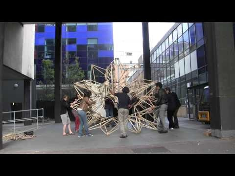 Deployable Structure_USC_deployment at Imperial College London.MTS - YouTube