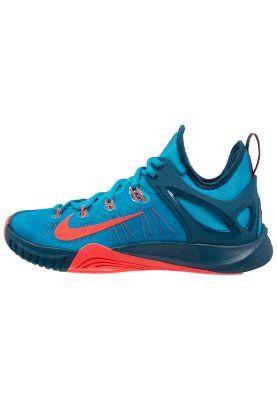 ZOOM HYPERREV 2015 - Zapatillas de baloncesto - blue lagoon/bright crimson