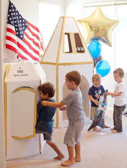 Amazing job on the space party props. I love the flag, such a nice touch. 3,2,1... blast off sara westbrook photography