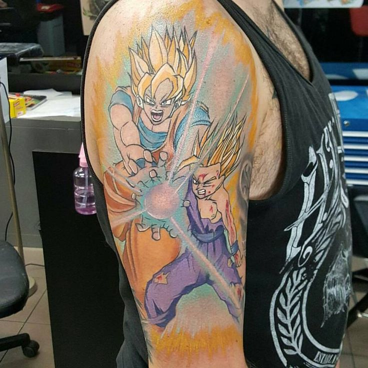 17 best images about dbz tattoo ideas on pinterest for Dragon ball z tattoo ideas