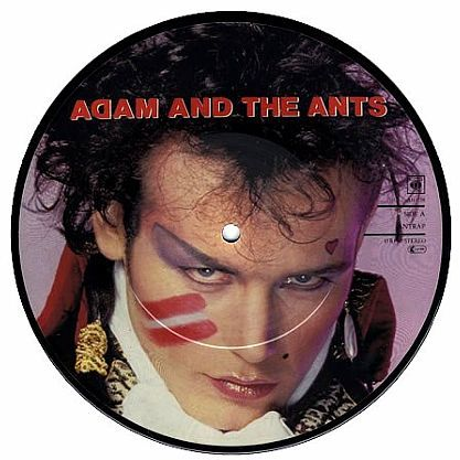 "7"" Picture-Single (Vinyl) Adam & The Ants - Antrap kaufen bei Hood.de"