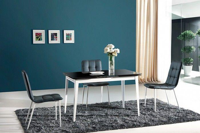 Jedálenský stôl Ethan je výnimočný stôl, ktorý vás prekvapí svojim netradičným a moderným dizajnom. Je vyrábaný v neutrálnom vyhotovení v kombinácii skla -...