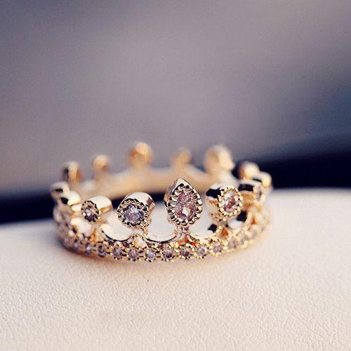 Кольца в виде короны | Красивые картинки