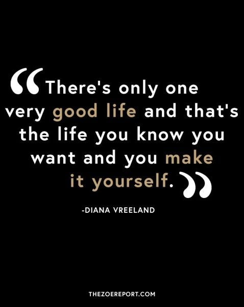 We're celebrating women all around the world by sharing some of our favorite words of wisdom from the fashion industry's most influential women, such as Diana Vreeland. Here are 18 quotes to inspire your day..